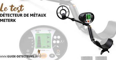 Meterk détecteur de métaux