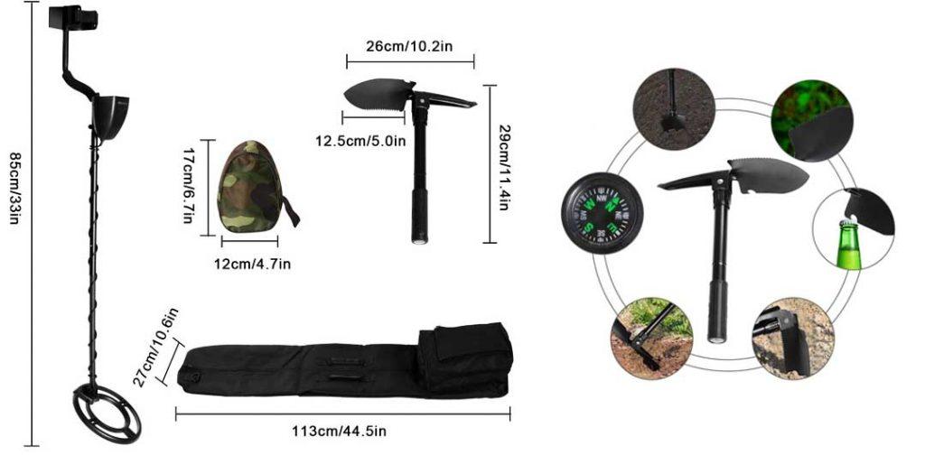 MARNUR détecteur de métaux