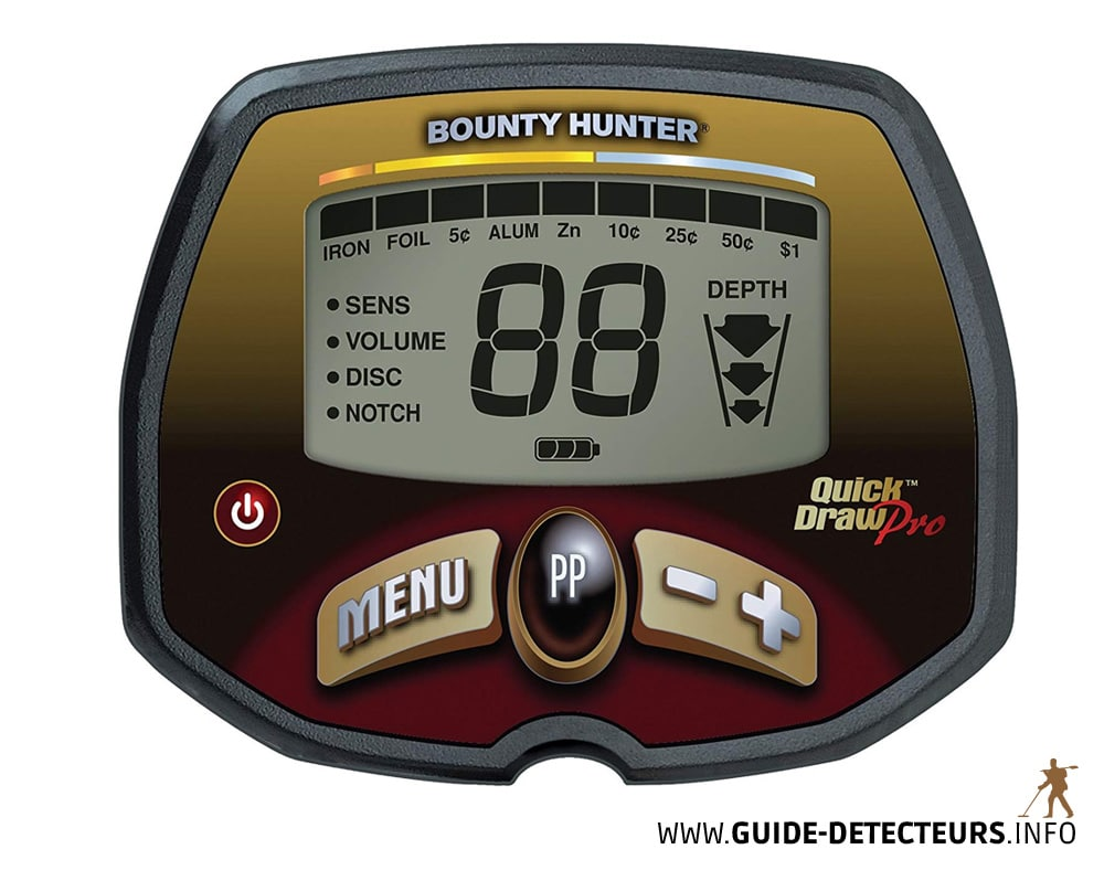 détecteur de métaux Bounty Hunter Quick Draw Pro