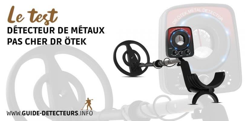 DR.ÖTEK Détecteur de Métaux