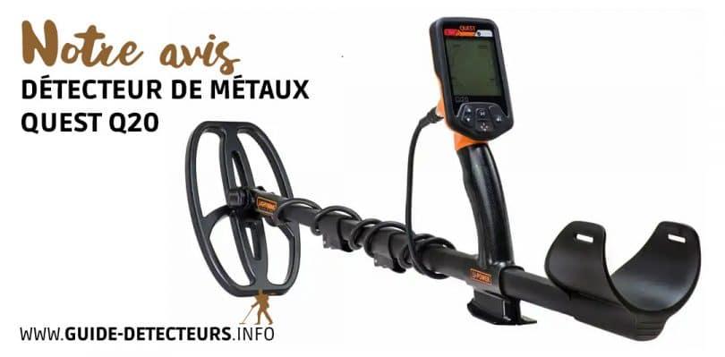 détecteur métaux Quest Q20