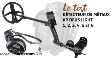 test complet du xp deus light
